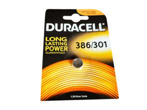 Pila Batteria Lithium A Bottone Duracell Litio 386 301 D386 SR43 280-41 1,5V