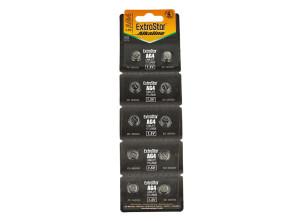 Pila Batteria A Bottone LR626 LR66 177 1,5V Extrastar AG4 Confezione Da 10 Pile
