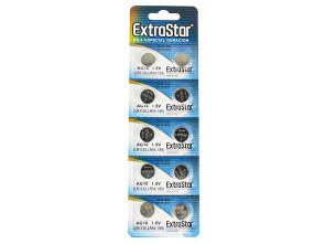 Pila Batteria A Bottone LR1130 LR54 189 1,5V Extrastar AG10 Confezione Da 10 Pile