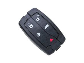 Chiave Telecomando Completa per Land Rover Freeland 2 (2006-2012) Compatibile LR013005 Transponder Hitag 46 PCF7953A 434MHz Ask 5 Tasti HU101