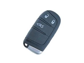 Chiave Telecomando Completa Keyless per Fiat 500X (2006-2019) Transponder Hitag-AES 4A 434MHz Ask 3 Tasti CY24