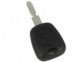Guscio Chiave Telecomando 2 Tasti Con Lama NE78 Batteria Su Circuito Senza Transponder Per Peugeot 106 107 207 407 806 206 Citroen