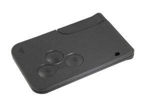 Chiave Telecomando Completa Smart key Card per Renault Scenic (2003-2009) Megane II 2(2002-2010) 7701209132 Transponder 46 PCF7947/434MHz Fsk 3 Tasti VA2